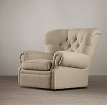 Churchill Upholstered Swivel Chair