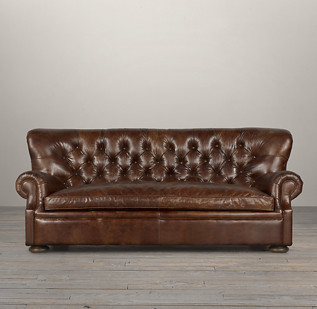 Churchill Leather Sofa Color Preview Unavailable