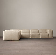 Preconfigured Fulham Upholstered L-Sectional
