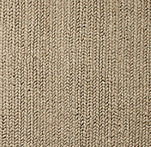 Chunky Braided Wool Rug Swatch - Oatmeal