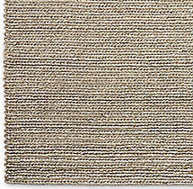 Chunky Braided Wool Rug Swatch - Marled