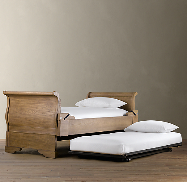Marston Daybed With Pop Up Trundle Dry Oak