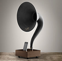 Gramophone For iPhone® - Walnut