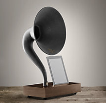 Gramophone For iPad® - Walnut