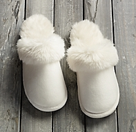 Luxe Faux Fur Slippers