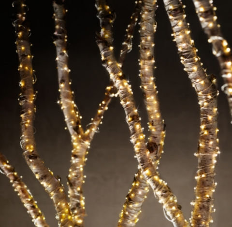 String Lights Restoration Hardware : Starry String Lights - Amber Lights on Copper Wire