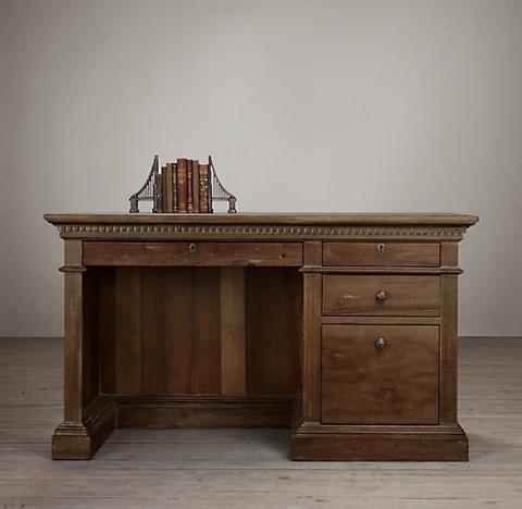 Admirable Desks Rh Home Interior And Landscaping Ponolsignezvosmurscom