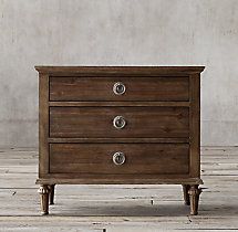 "Maison 32""Closed Nightstand"