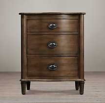 "Empire Rosette 24"" Closed Nightstand"