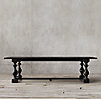 17th C Monastery Rectangular Dining Table