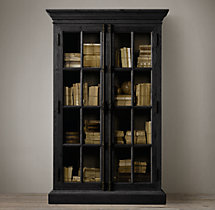 French Casement Double-Door Cabinet