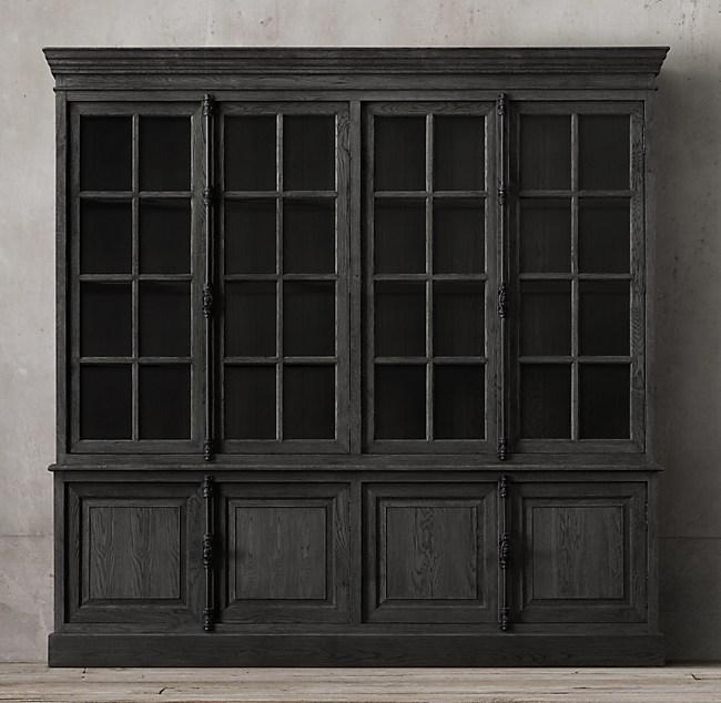 French Casement 4 Door Sideboard Amp Hutch