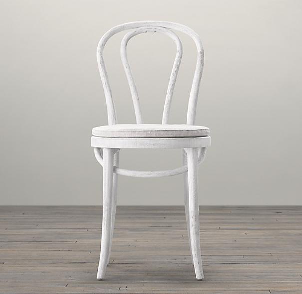 French Caf 233 Side Chair Cushion