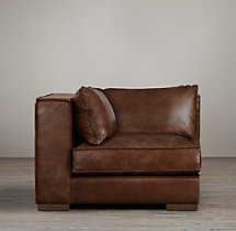 Capri Leather Corner Chair