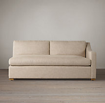 Belgian Classic Slope Arm Upholstered Right-Arm Sofa