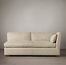 Belgian Shelter Arm Upholstered Right-Arm Sofa