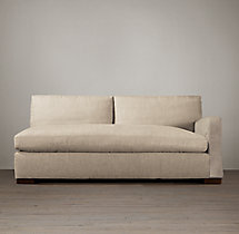 Belgian Slope Arm Upholstered Right-Arm Sofa