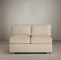 Collins Upholstered Armless Sofa