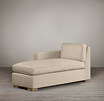 Collins Upholstered Left-Arm Chaise