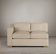 Collins Upholstered Left-Arm Sofa
