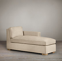 Collins Upholstered Right-Arm Chaise