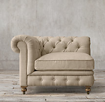 Kensington Upholstered Corner Chair