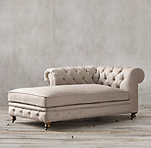 Kensington Upholstered Left-Arm Chaise
