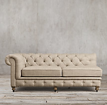 Kensington Upholstered Left-Arm Sofa