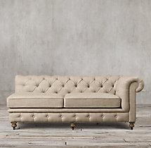 Petite Kensington Upholstered Right-Arm Sofa