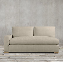 Maxwell Fabric Left-Arm Sofa