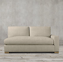 Petite Maxwell Upholstered Right-Arm Sofa