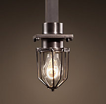 Metropolitan Railway Single Pendant