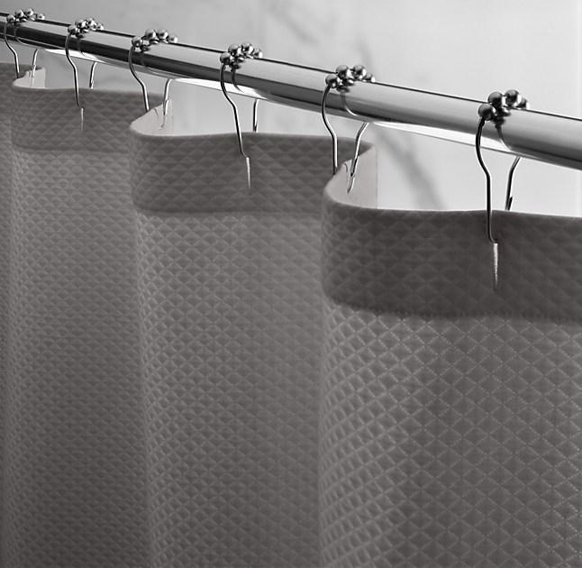 Diamond Matelasse Shower Curtain