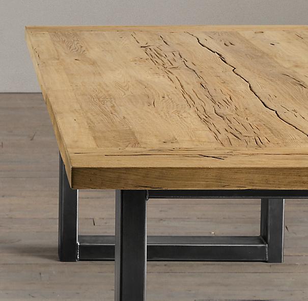 Anderson rectangular dining table - Mesas de madera hechas a mano ...