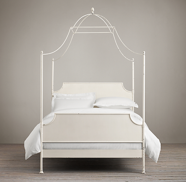 Campaign Iron Canopy Bed Color Preview Unavailable Alternate View 1