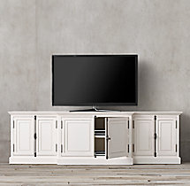 French Panel Media Console