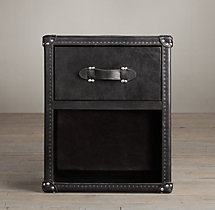 Mayfair Steamer Trunk 1-Drawer Cube