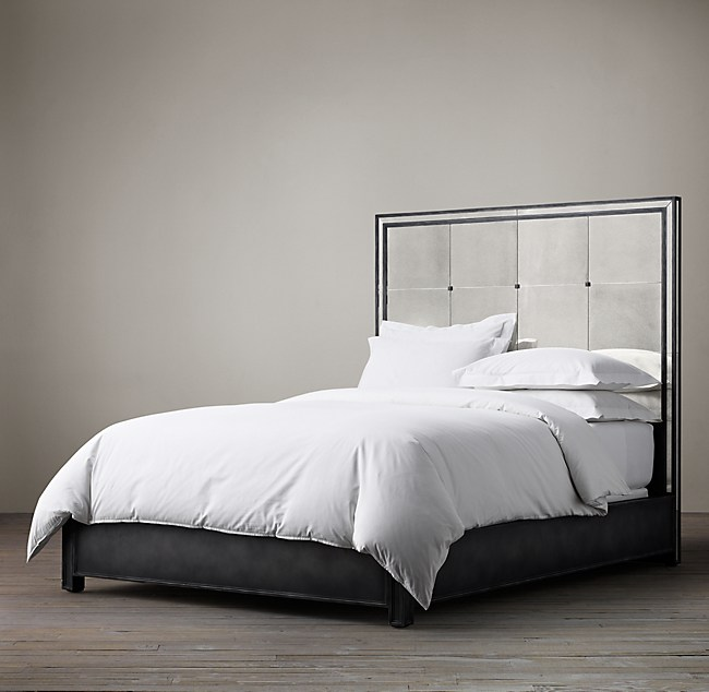 strand mirrored bed - Mirrored Bed Frame