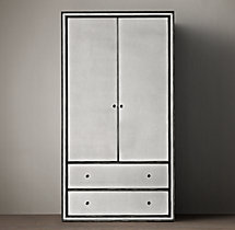 Strand Mirrored Armoire