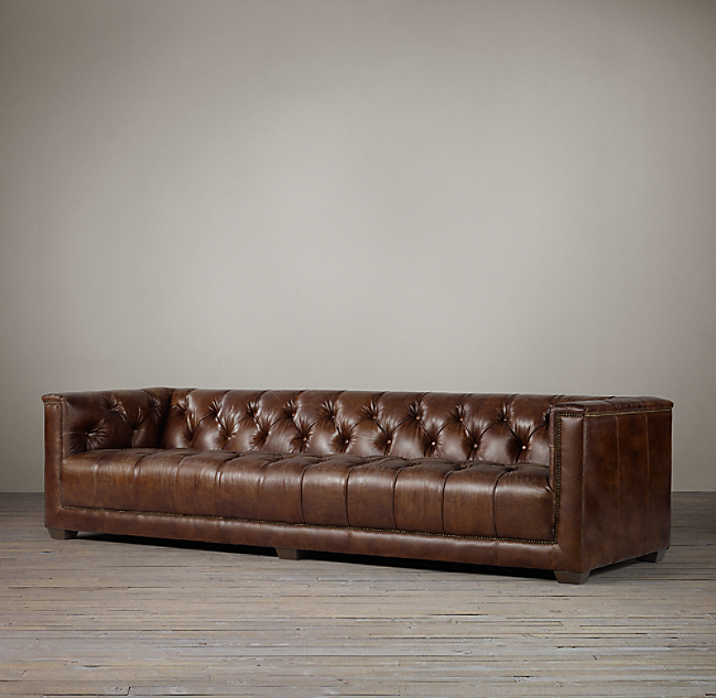 Savoy Leather Sofa Color Preview Unavailable