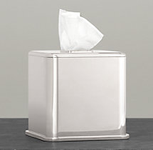 Pharmacy Metal Tissue Cover
