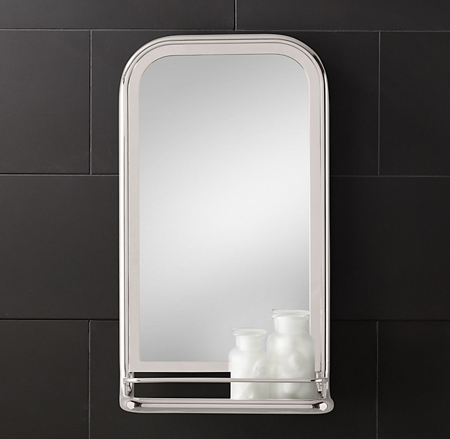 Bathroom Mirror Restoration Hardware astoria mirror with tray