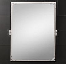 Industrial Rivet Pivot Mirror