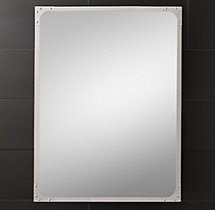 Industrial Rivet Flat Mirror