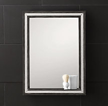 Strand Mirror with Tray