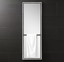 Strand Full-Length Mirror with Towel Bar