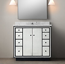 Strand Mirrored Single Vanity