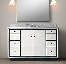 Strand Mirrored Single Extra-Wide Vanity