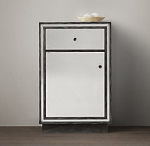 Strand Mirrored Short Bath Cabinet