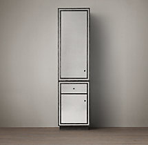 Strand Mirrored Tall Bath Cabinet